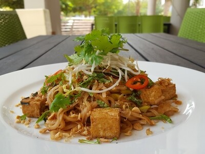 (Pho Xao Chay) Vegan Stir-fried Noodle