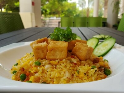 (COM CHIEN CHAY) Vegan Fried Rice