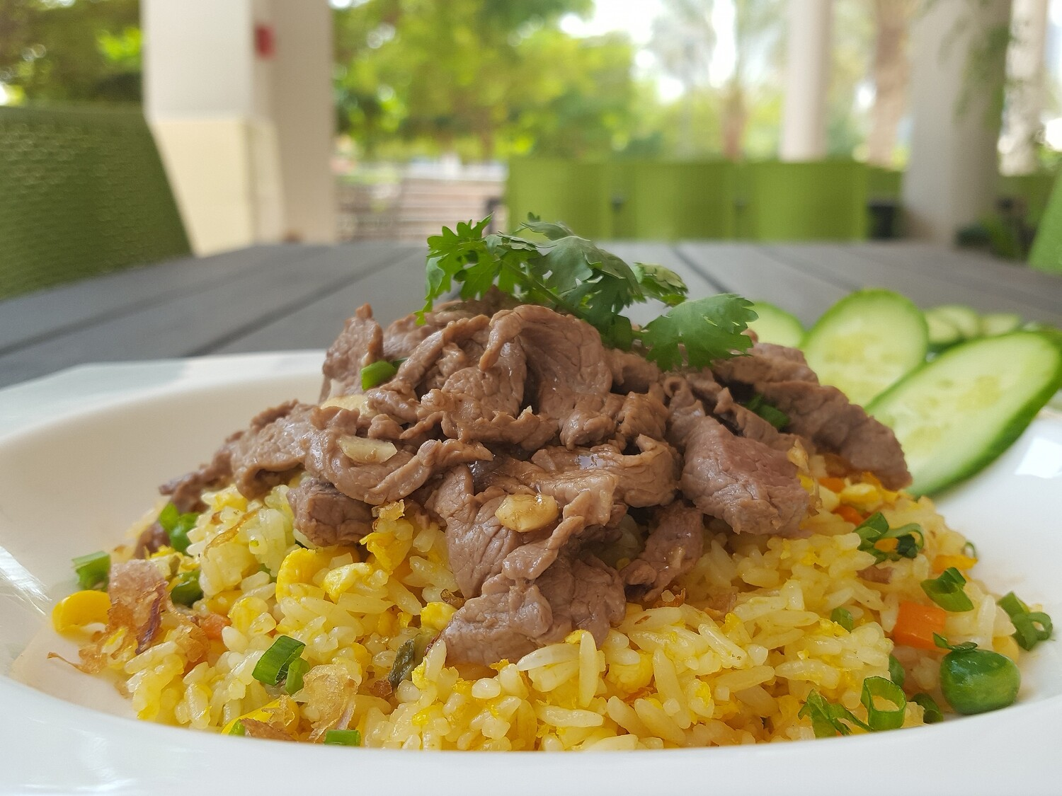 (COM CHIEN BO) Beef Fried Rice