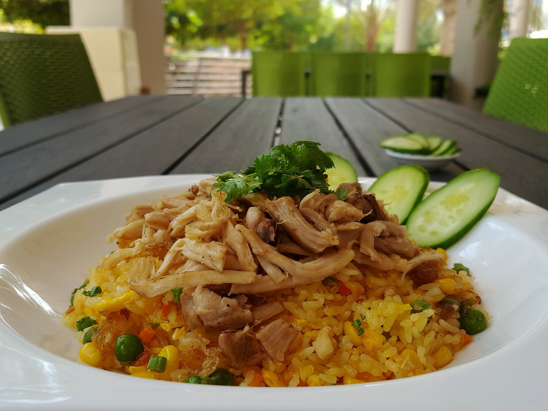 (COM CHIEN GA) Chicken Fried Rice