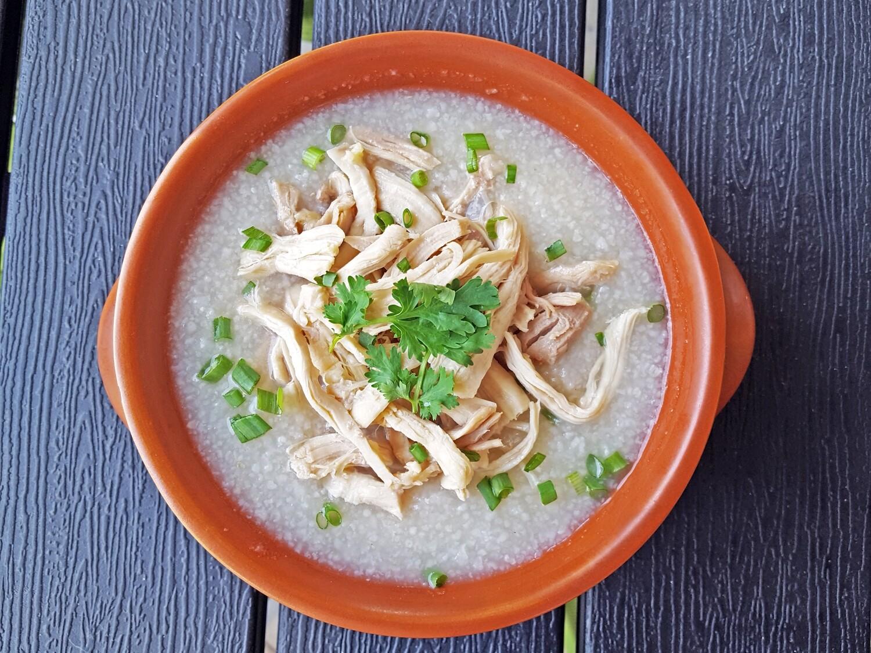 (Chao Ga) Chicken Rice Chowder