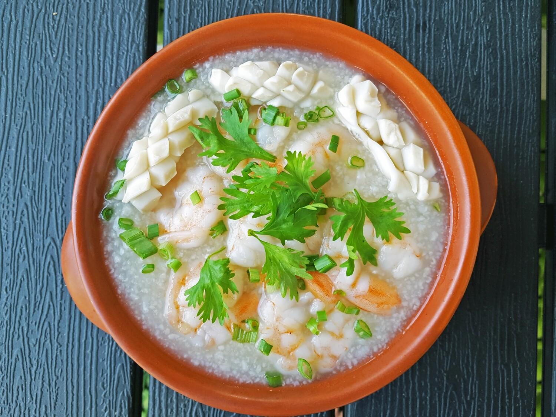 (Chao Hai San) Seafood Rice Chowder