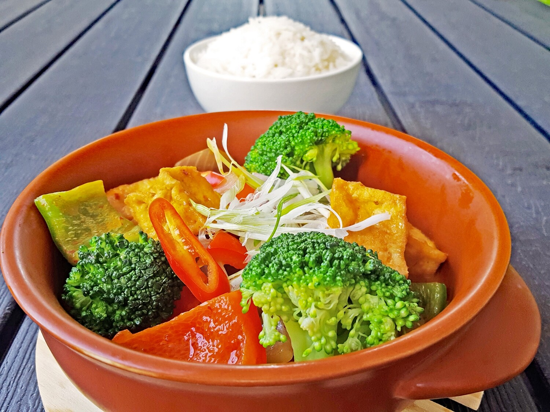 (CA RI CHAY) Vegan Curry