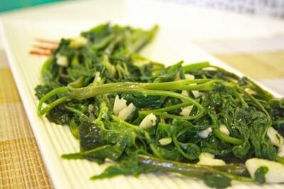 (Rau Muong Xao Toi) Water Spinach With Garlic