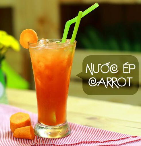 (NUOC CA ROT) Carrot Juice