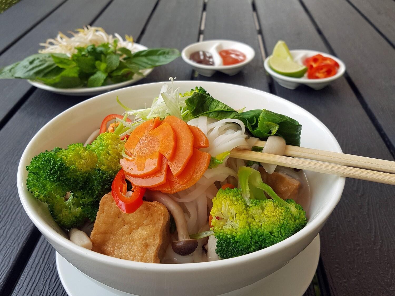 (PHO CHAY) Vegan Noodle Soup (kid's portion)