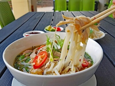 (PHO GA) Vietnamese Chicken Noodle Soup (kid's portion)