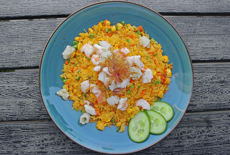(COM CHIEN HAI SAN) Seafood Fried Rice