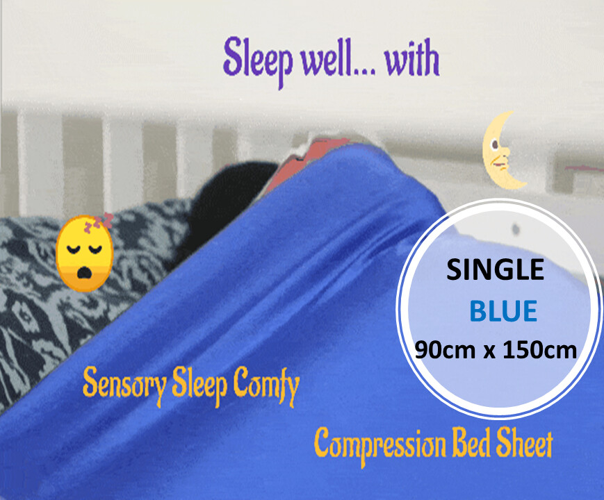 Sensory Sleep Comfy Compression Bed Sheet