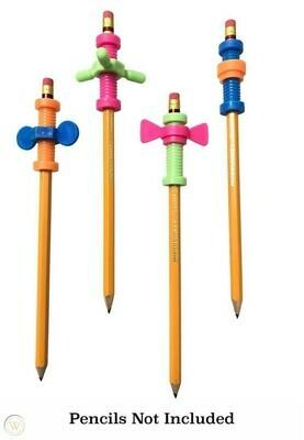 Pencil Fidget Toppers - Set of Four (4)