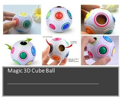 Magic 3D Cube Ball