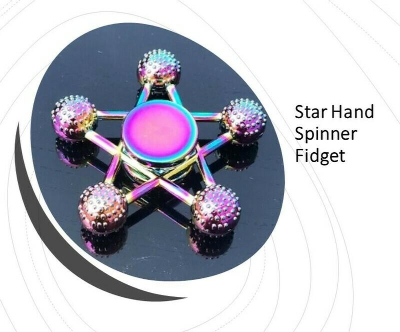 Star Hand Spinner Fidget