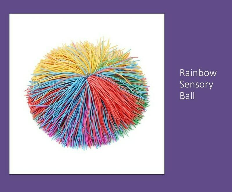Rainbow Sensory Ball