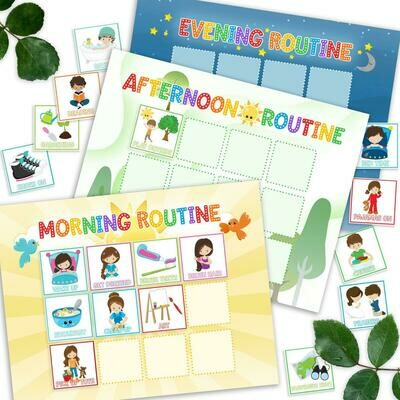 Printable Routine Chart For Kids