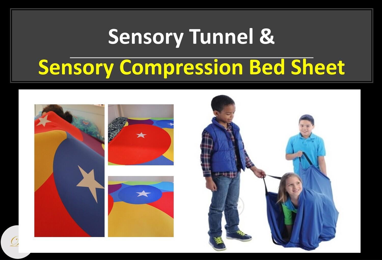 BUNDLE OFFER - Sensory Tunnel & Sensory Compression Bed Sheet