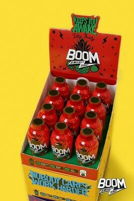 Pack of 12 (One Carton) | Boom Energy Shot 60ml