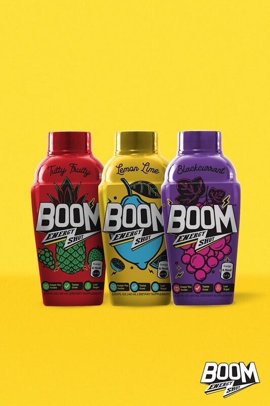 Pack of 3 | Boom Energy Shot 60ml