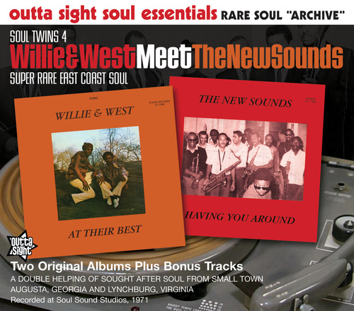 SOUL TWINS - Willie And West Meet The New Sounds