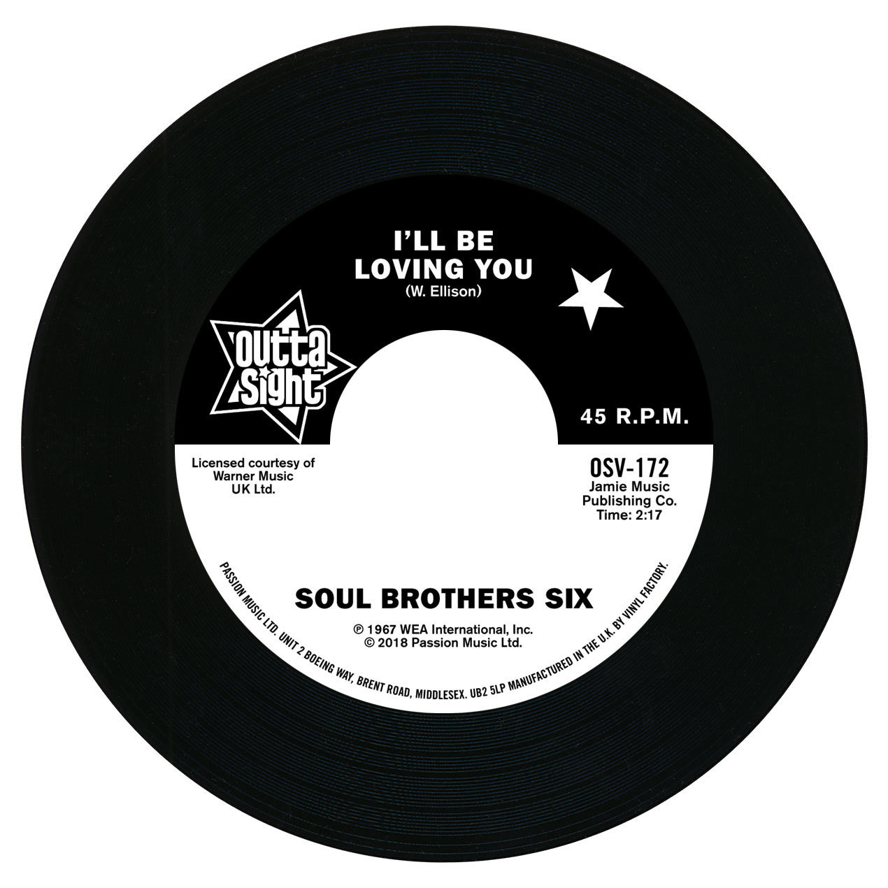 The Soul Brothers Six / Willie Tee
