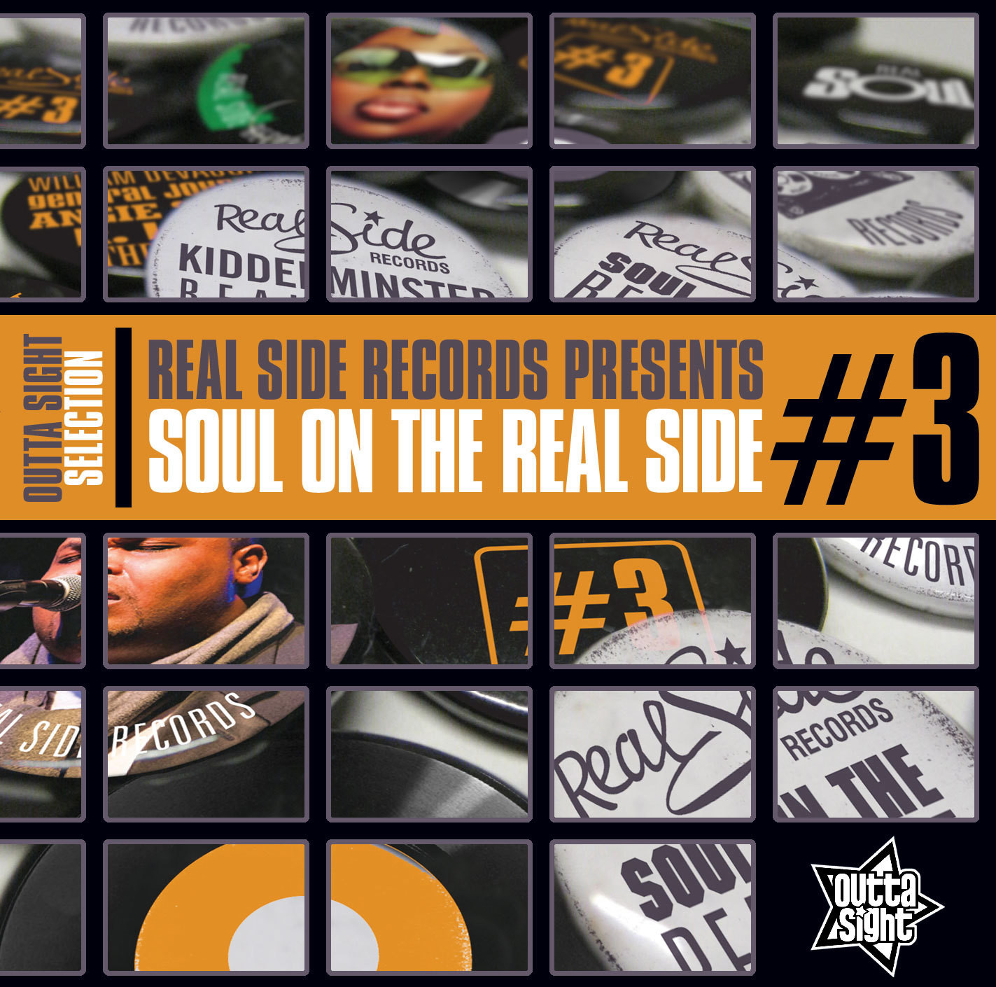 "Real Side Records Presents ""SOUL ON THE REAL SIDE #3"""