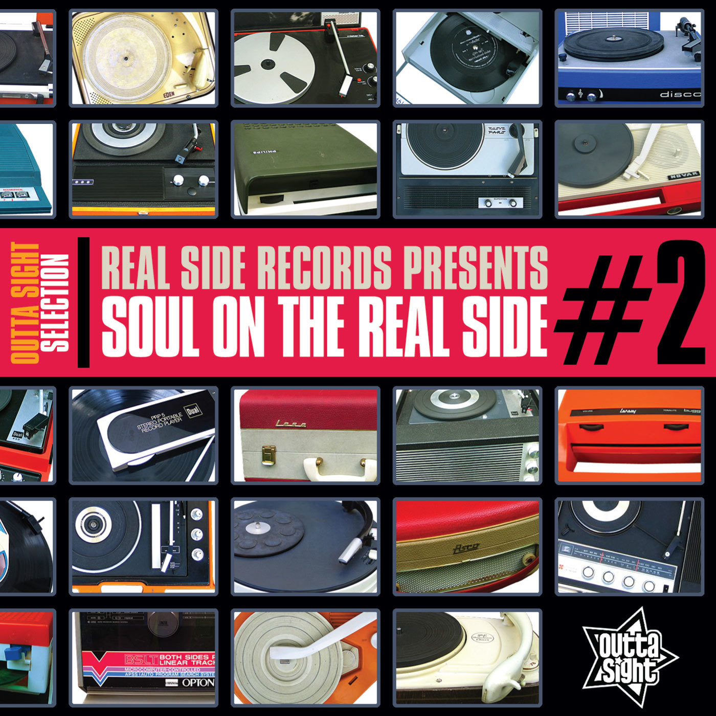 "Real Side Records Presents ""SOUL ON THE REAL SIDE #2"""
