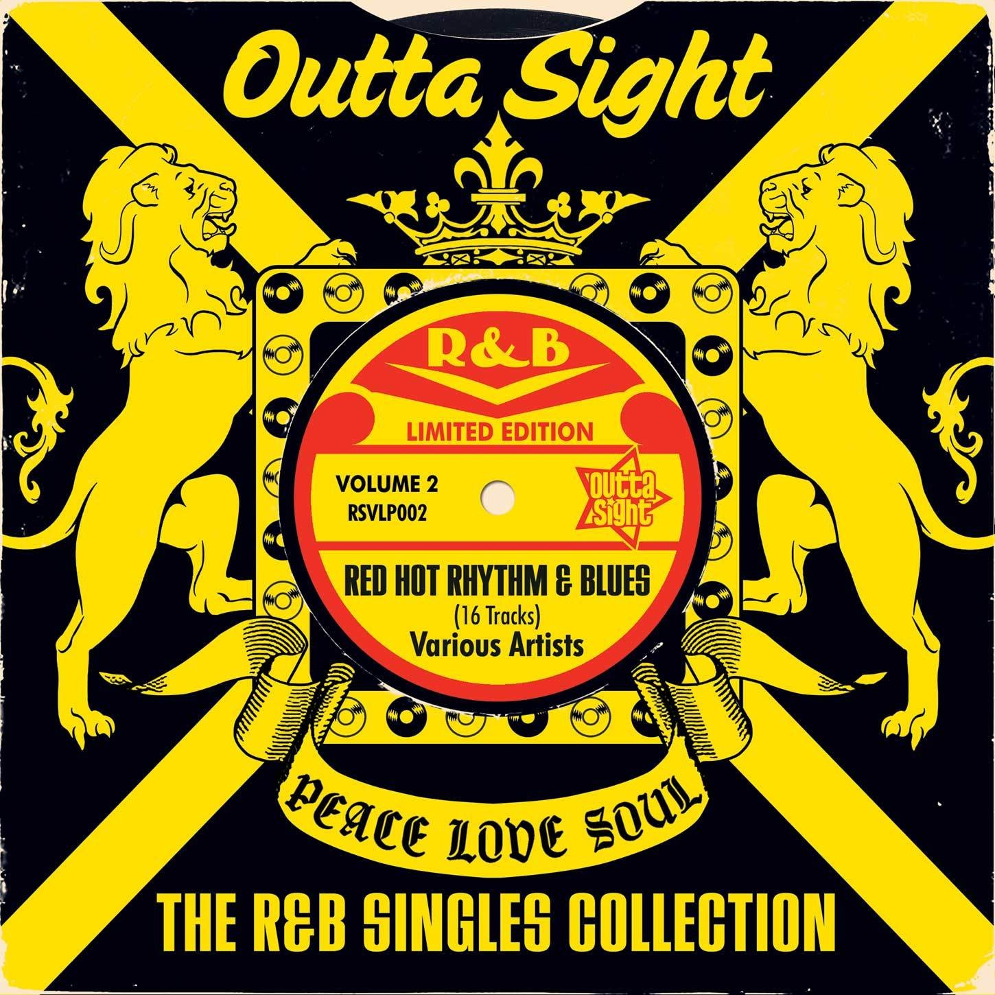 THE R&B SINGLES COLLECTION LP VOL. 2