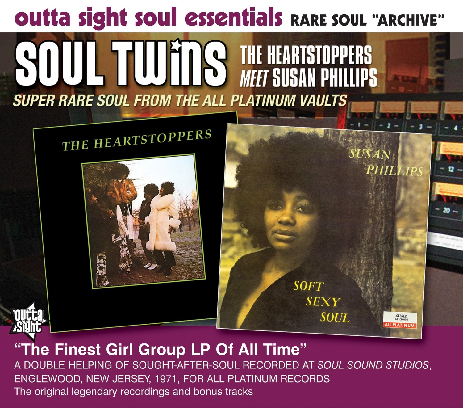 SOUL TWINS - The Heartstoppers Meet Susan Phillips
