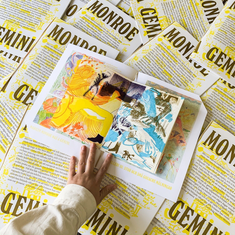 Jemini EXHIBITION Book: Marilyn Monroe was a Gemini
