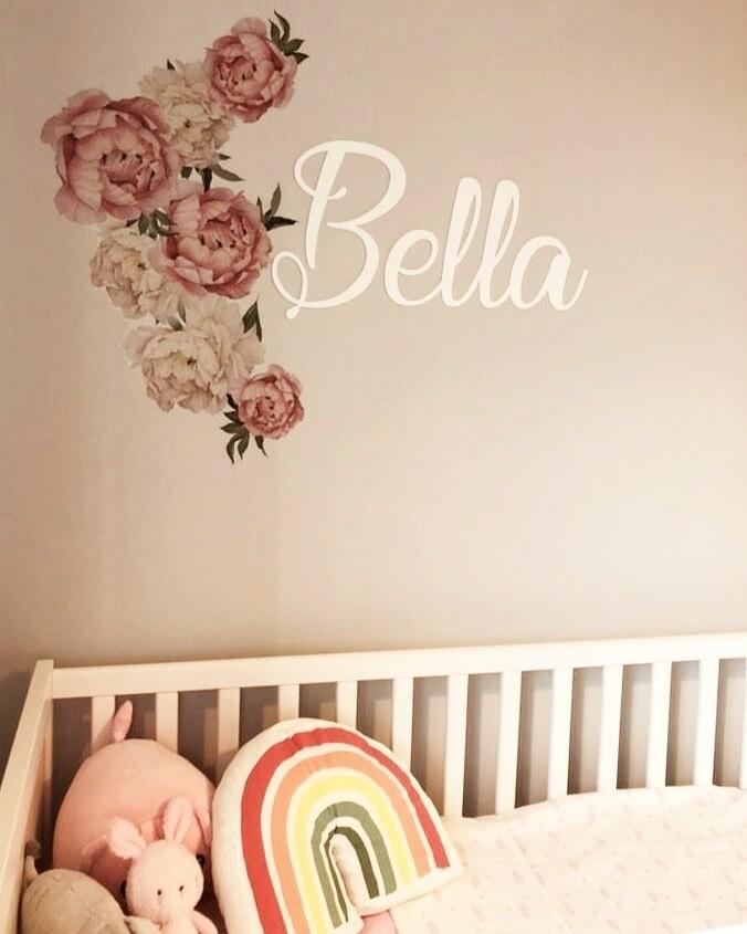 Acrylic Wall names