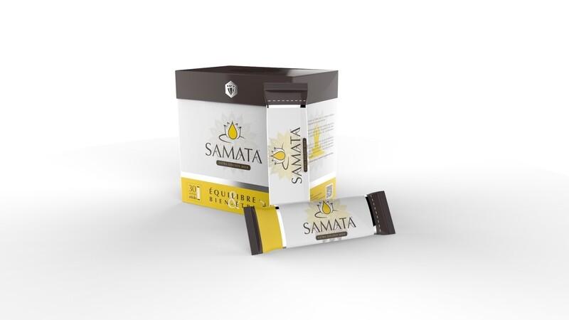 Deux Boites de 30 Samata boisson energetique aphrodisiaque