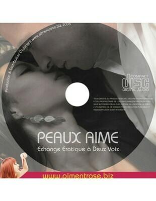 CD Audio érotique Peaux Aime avec Alain Héril