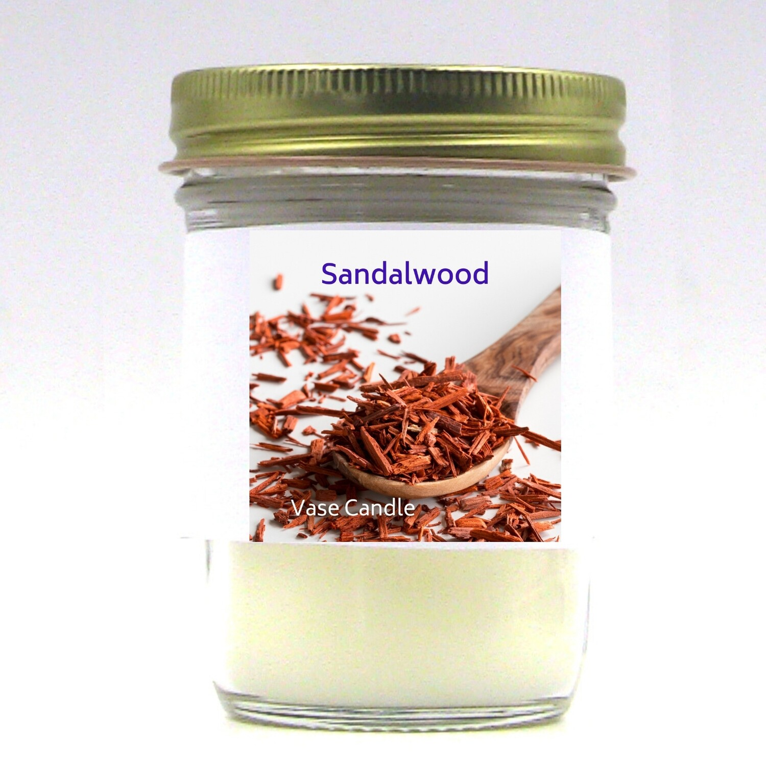 Sandalwood Vase Candle Jar