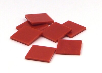 Red Opal Fusible - Half Package