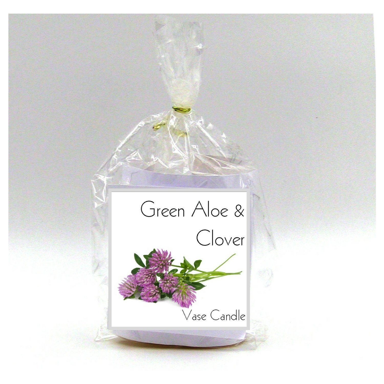 Green Aloe & Clover Candle Refill