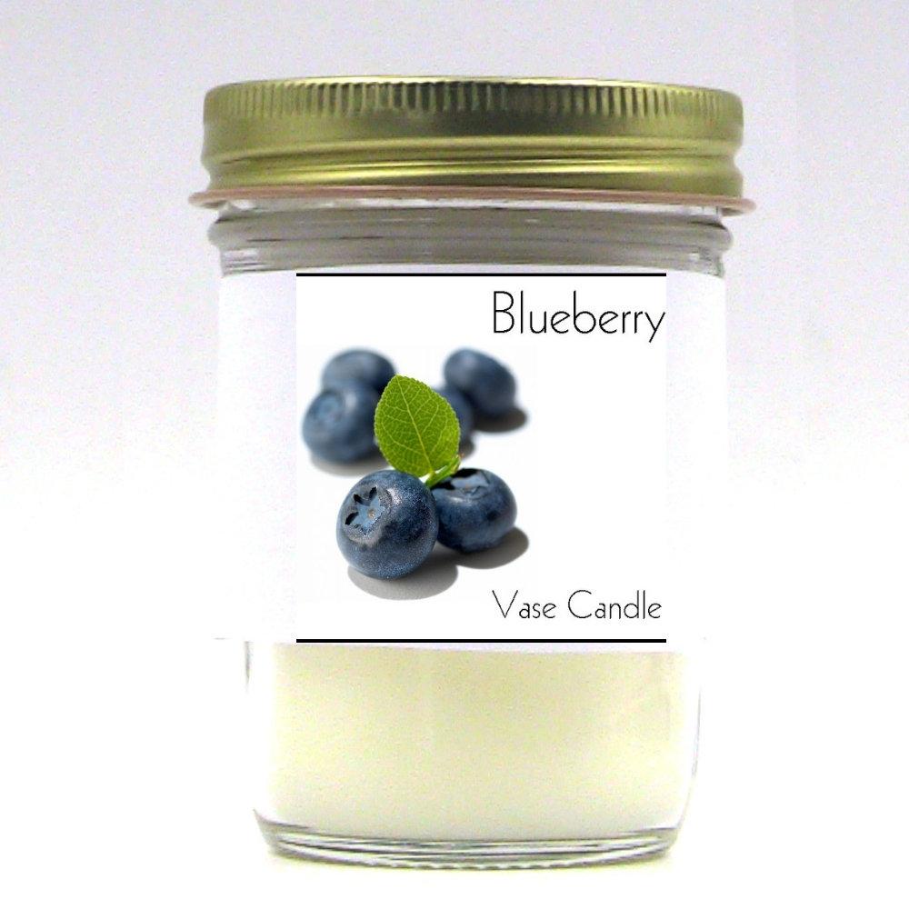 Blueberry Vase Candle Jar
