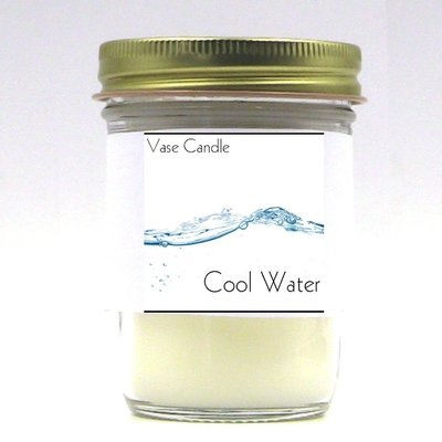 Cool Water Vase Candle Jar