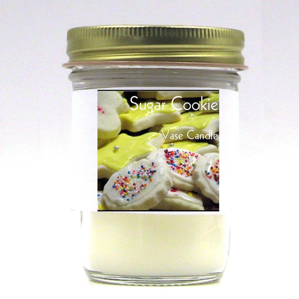 Sugar Cookie Vase Candle Jar