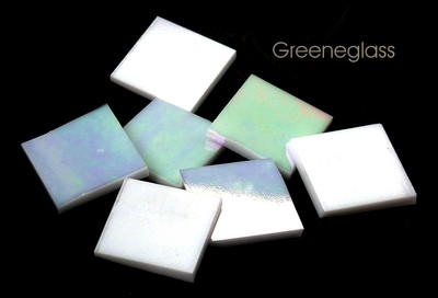 White Opal Iridized - Large Package