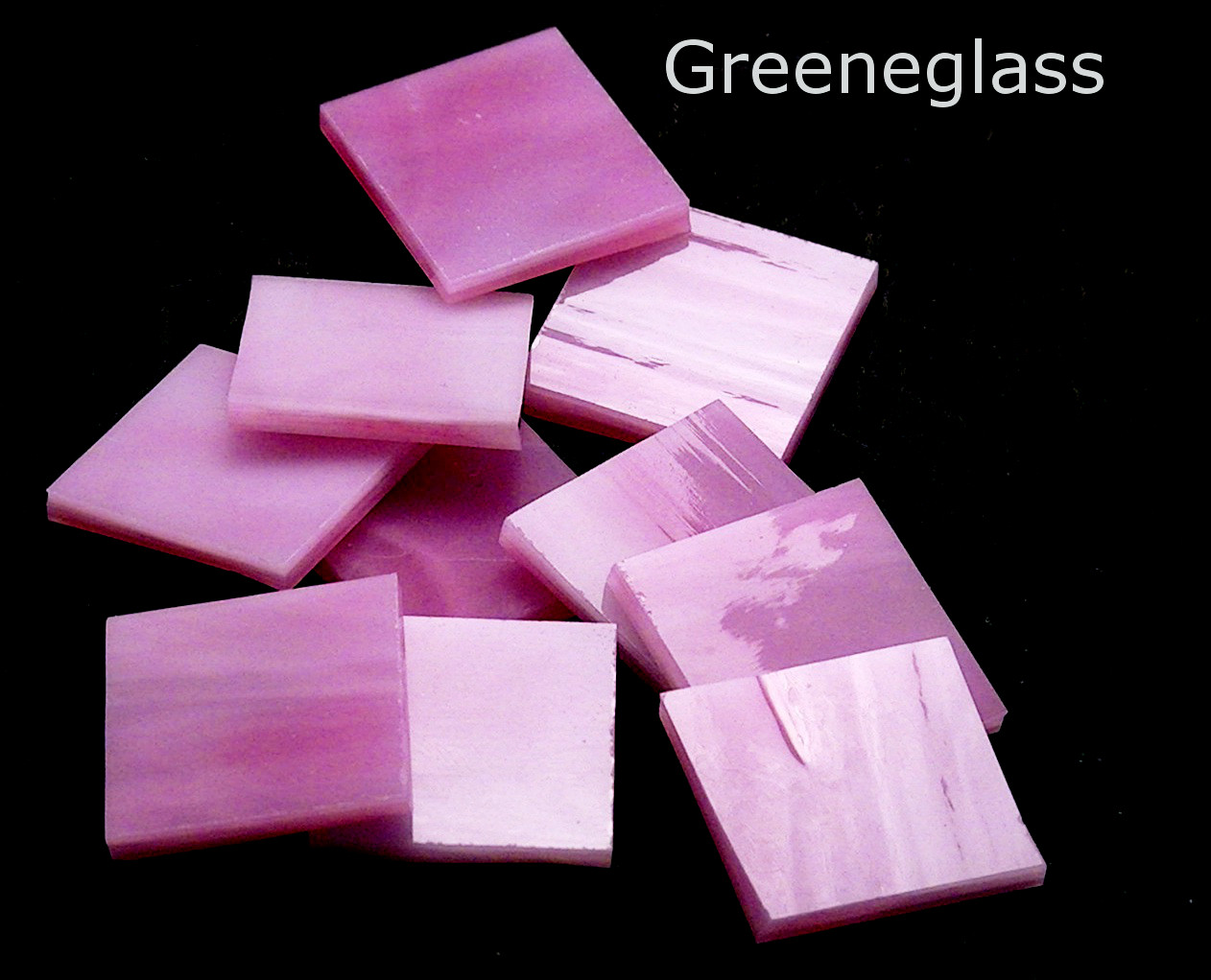 Pink & White Translucent - Medium Package