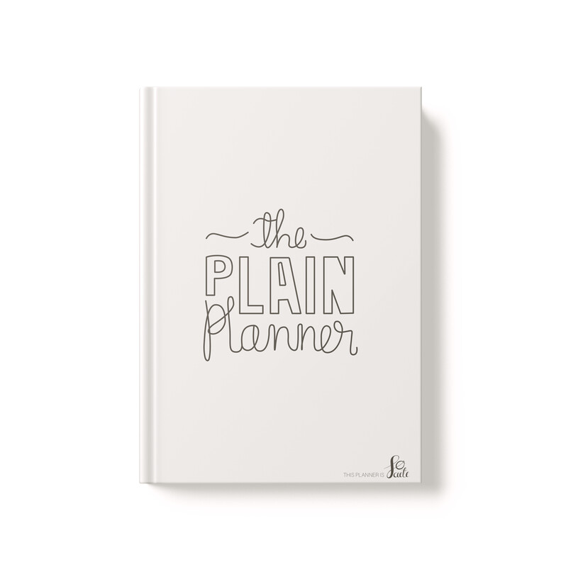 the plain planner