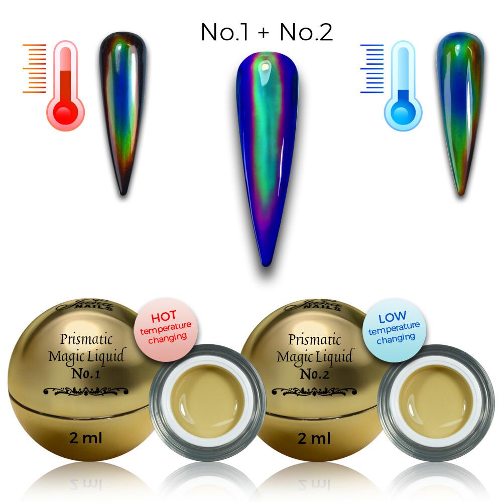 prismatic magic liquide 1 et 2