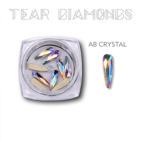 tear diamond AB crystal