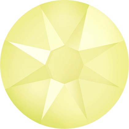 crystal powder yellow ss16 (100)