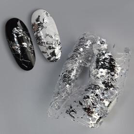 mesh foils silver Jana Nails