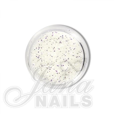 glitter midi white Jana Nails