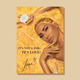 poster jana gold Jana Nails