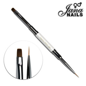 pinceau double carre n°6 Jana Nails