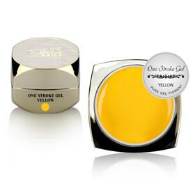 one stroke art gel yellow 5ml