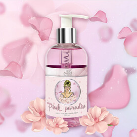 hand soap pink paradise