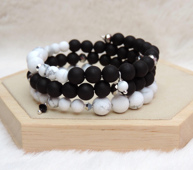 Bracelet «mila black»